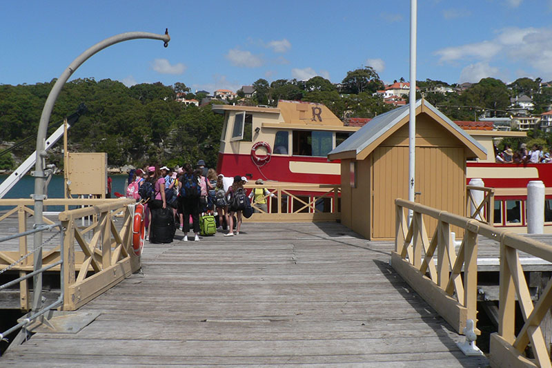 accommodation on the shores of sydney harbour
